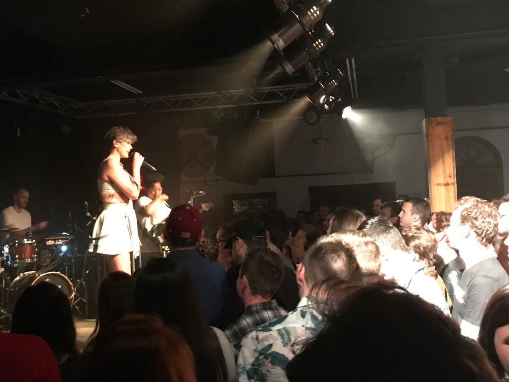 Betty and Audience